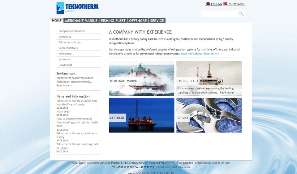 Teknotherm-Webside-Front