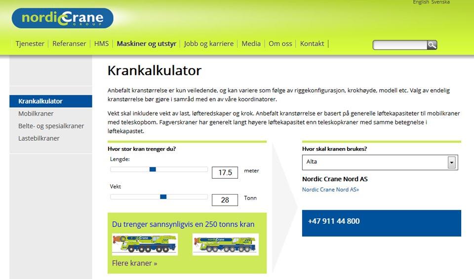 NordicCrane-Web-Cranecalc
