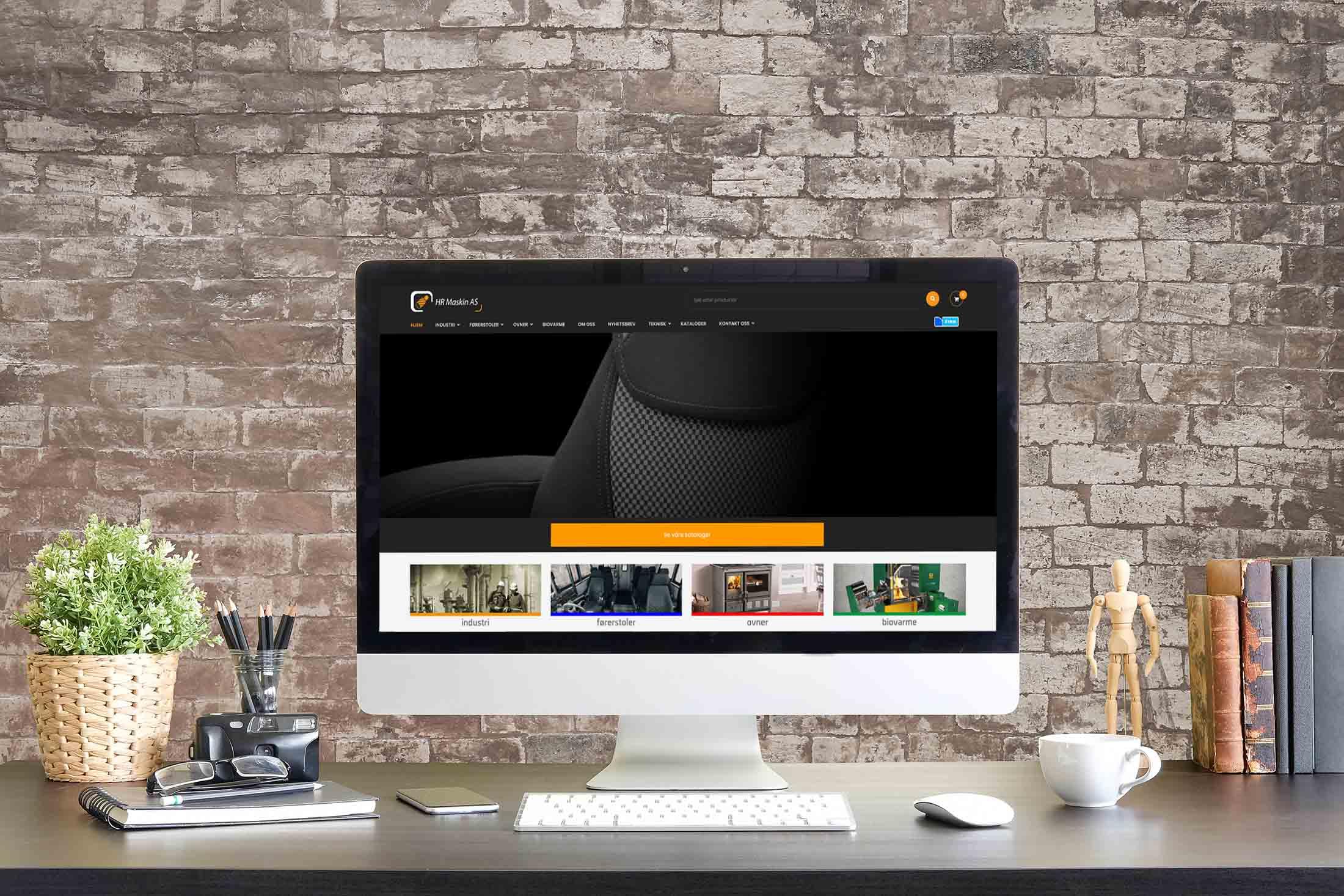 HR Maskin nettbutikk med Visma Global integrasjon