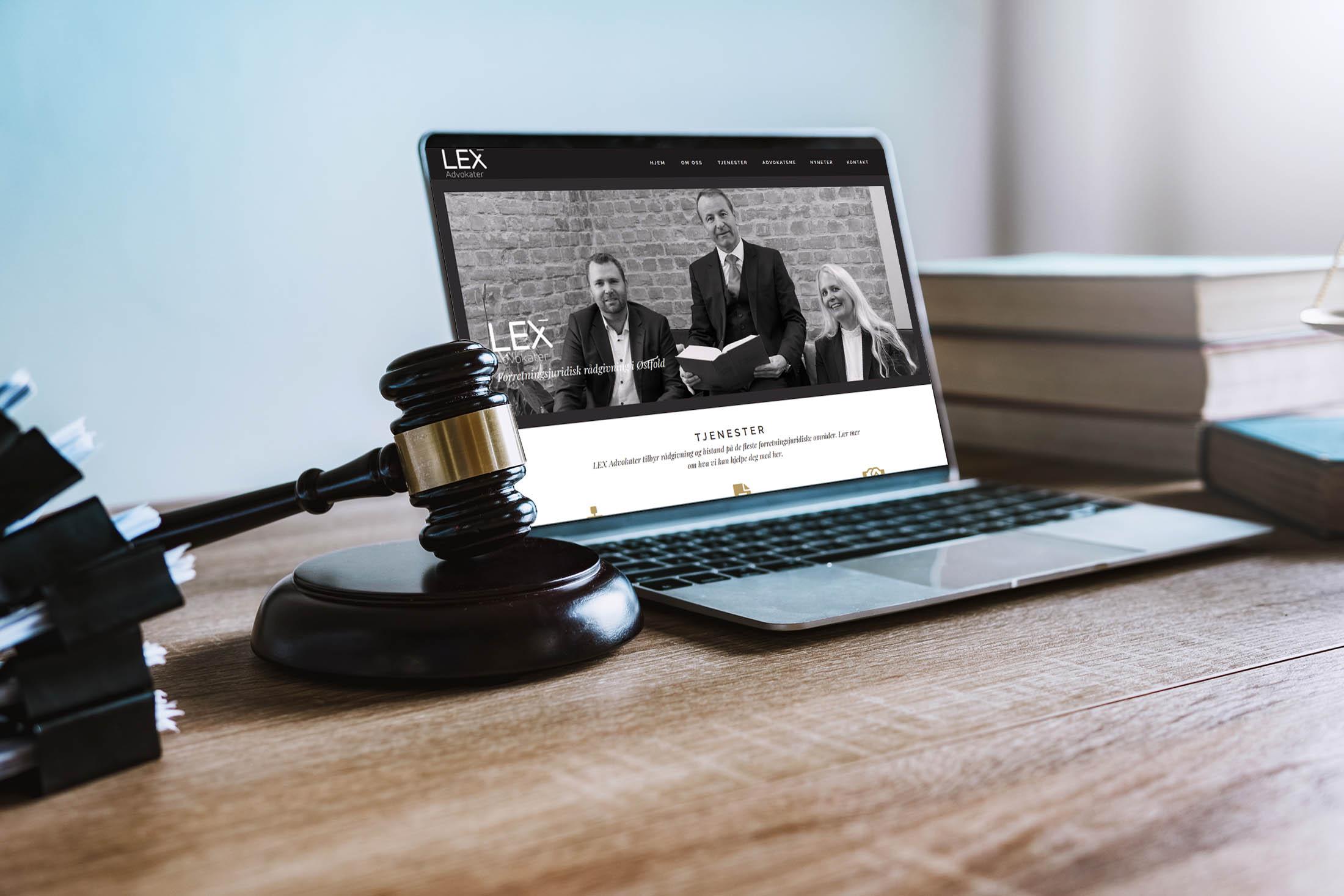Lex Advokater nettside