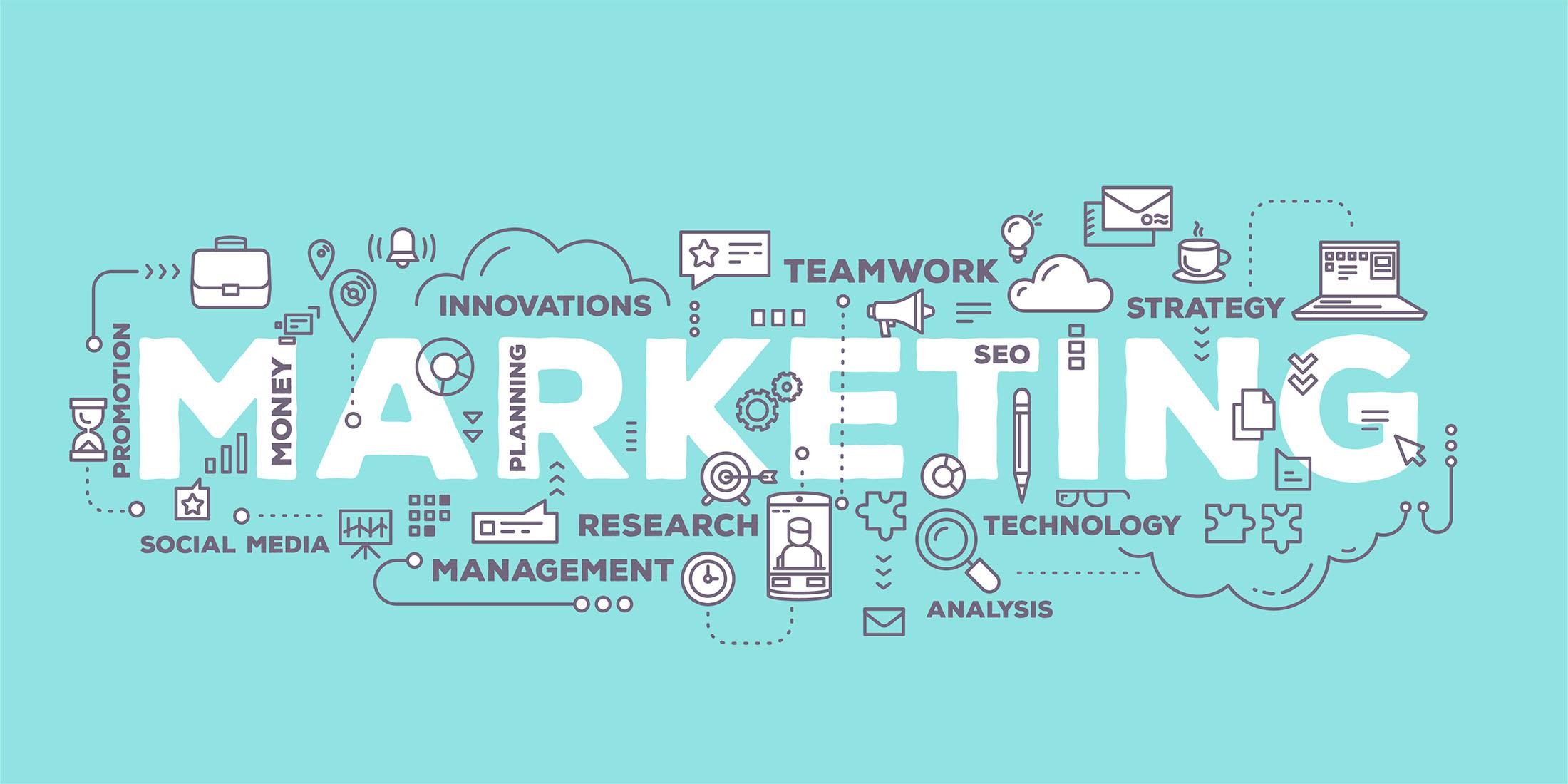 Marketing. Grafikk